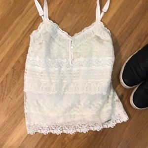 Abercrombie & Fitch lace top S
